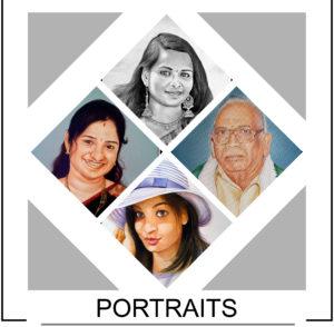 Portrait Art Sketch Drawing Painting Canvas - Glow Art